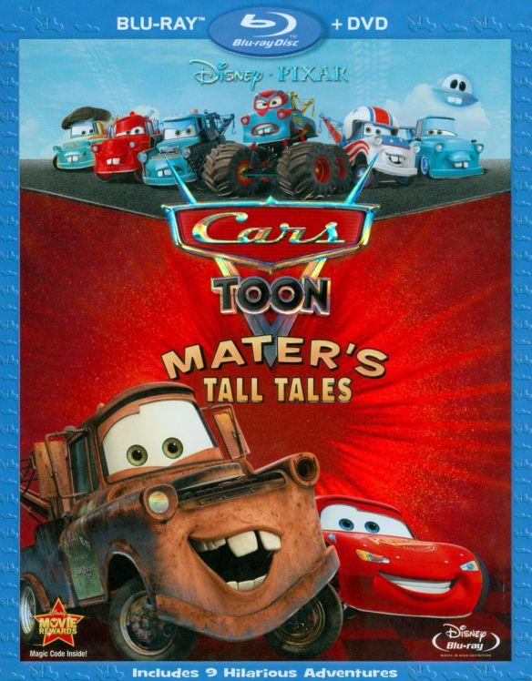 Cars Toon: Mater's Tall Tales [2 Discs] [Blu-Ray/DVD] [Blu-ray/DVD] 1277746