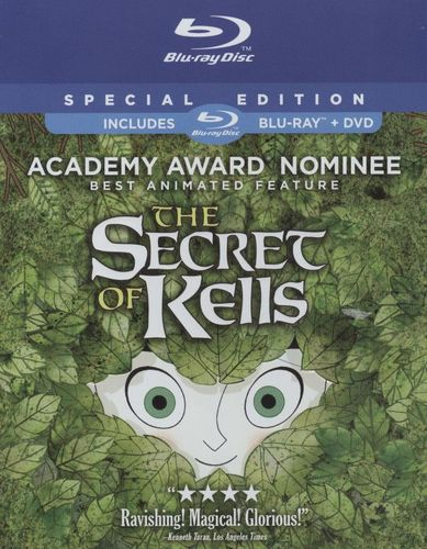 The Secret of Kells [2 Discs] [Blu-ray/DVD] [2009] 1284551