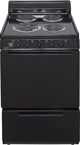 Premier - 3.0 Cu. Ft. Freestanding Electric Range - Black
