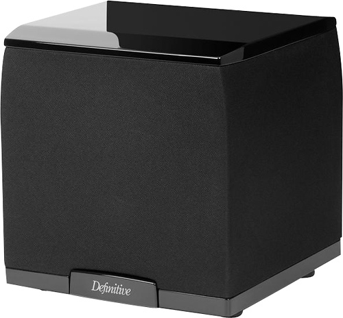 Definitive Technology SuperCube 2000 Black Ultra-Compact 650W Powered Subwoofer