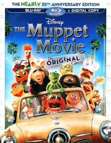 The Muppet Movie [The Nearly 35th Anniversary Edition] [Blu-ray] [1979] 1332695