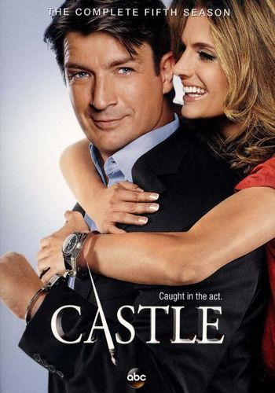 Castle: The Complete Fifth Season [5 Discs] [DVD] 1350026