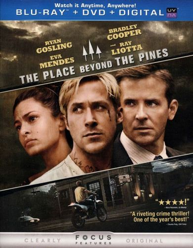 The Place Beyond the Pines [2 Discs] [Includes Digital Copy] [UltraViolet] [Blu-ray/DVD] [2012] 1361526