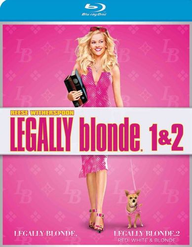 Legally Blonde/Legally Blonde 2 [2 Discs] [Blu-ray] 1367061