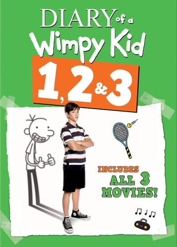 Diary of a Wimpy Kid 1, 2 & 3 [3 Discs] [DVD] 1367245