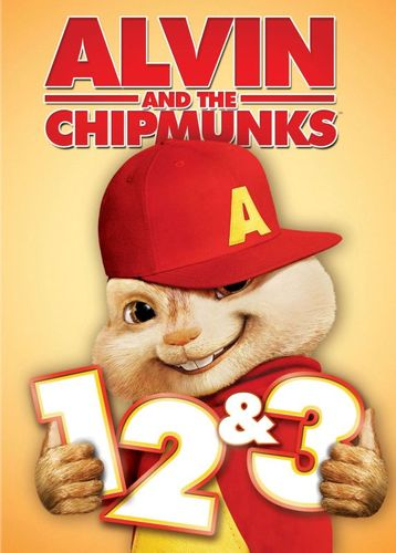 Alvin and the Chipmunks Triple Feature [3 Discs] [DVD] 1367272
