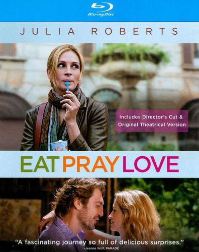 Eat Pray Love [Theatrical Version/Extended Cut] [Blu-ray] [2010] 1380651