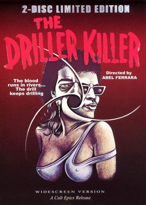 The Driller Killer/The Early Short Films of Abel Ferrara [2 Discs] [DVD] [1979] 13865276