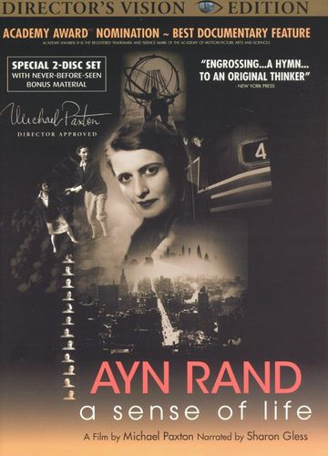 Ayn Rand: A Sense of Life [Director's Vision Edition] [2 Discs] [DVD] [1997] 13968851