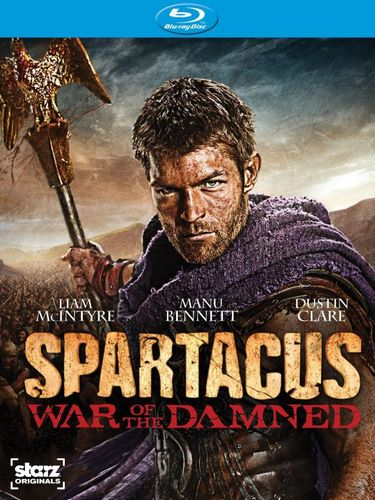 Spartacus: War of the Damned [3 Discs] [Blu-ray] 1402056