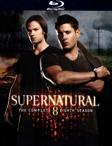 Supernatural: The Complete Eighth Season [4 Discs] [Blu-ray] 1402083