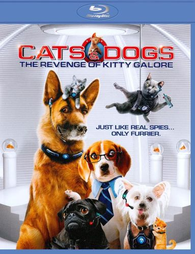 Cats & Dogs: The Revenge of Kitty Galore [2 Discs] [Blu-ray/DVD] [2010] 1405566