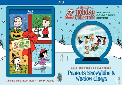 Peanuts Deluxe Holiday Collection [6 Discs] [Blu-ray/DVD] 1405645