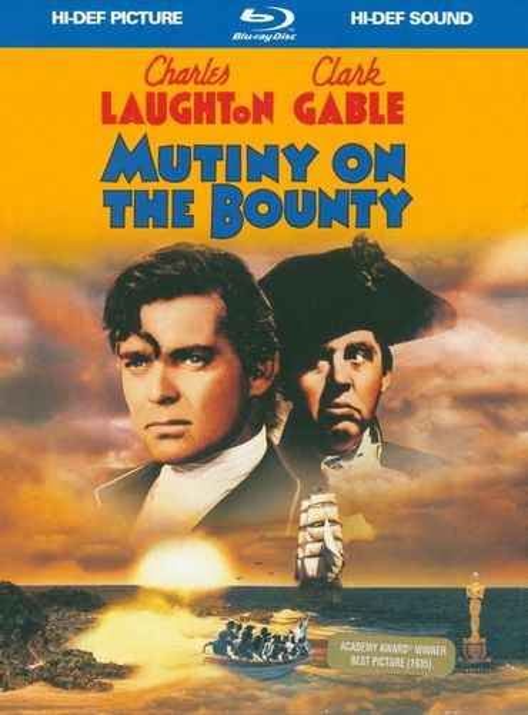 Mutiny on the Bounty [DigiBook] [Blu-ray] [1935] 1405654