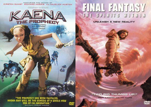 Kaena: The Prophecy/Final Fantasy [2 Discs] [DVD] 14169491