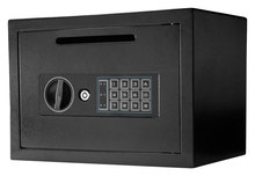 Barska Compact Keypad Depository Safe Black AX11934