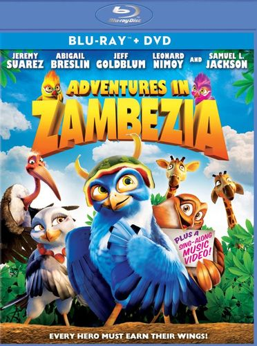 Adventures in Zambezia [2 Discs] [Blu-ray/DVD] [2012] 1420862