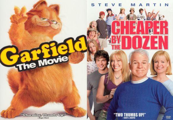 Garfield: The Movie/Cheaper by the Dozen [2 Discs] [DVD] 14224109