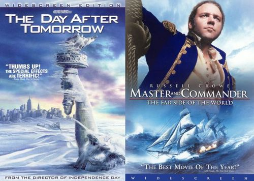The Day After Tomorrow/Master and Commander - The Far Side of the World [2 Discs] [DVD] 14224234