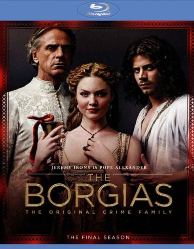 The Borgias: The Final Season [3 Discs] [Blu-ray/DVD] 1423226