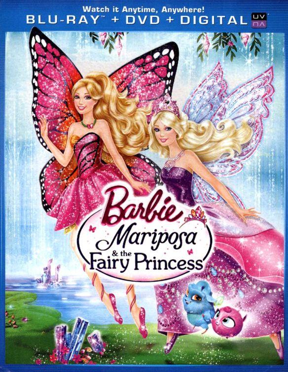 Barbie: Mariposa & the Fairy Princess [Blu-ray] [2013] 1427134