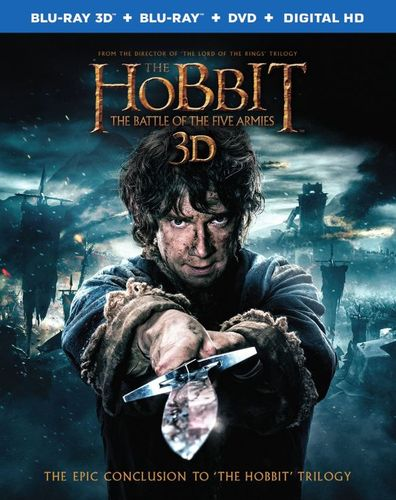 Hobbit: The Battle of the Five Armies [Includes Digital Copy] [UltraViolet] [3D] [Blu-ray/DVD] [Blu-ray/Blu-ray 3D/DVD] [2014] 1433689