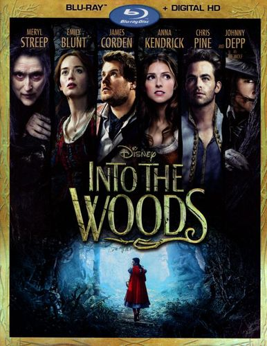 Into the Woods [Includes Digital Copy] [Blu-ray] [2014] 1437171