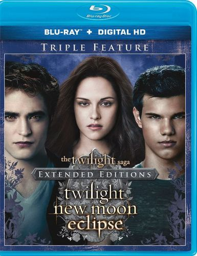 The Twilight Saga: Twilight/New Moon/Eclipse [Blu-ray] 1440633