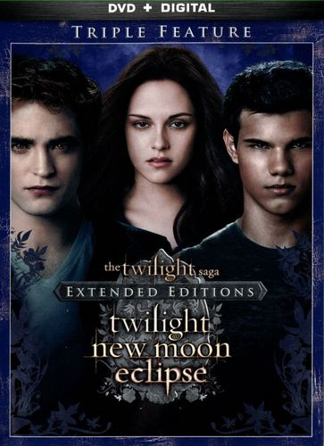 The Twilight Saga: Twilight/New Moon/Eclipse [Extended Editions] [DVD] 1440688