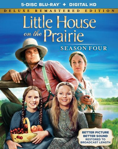Little House on the Prairie: Season Four [5 Discs] [Includes Digital Copy] [Blu-ray] 1440915