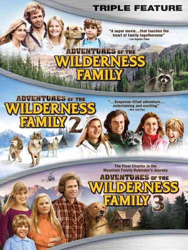 Adventures of the Wilderness Family Triple Feature [DVD] 1440942