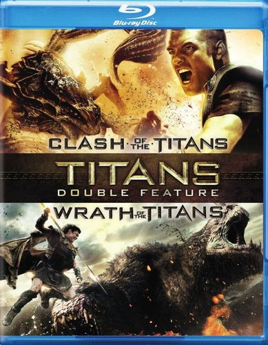 Clash of the Titans/Wrath of the Titans [2 Discs] [Blu-ray] 1458129