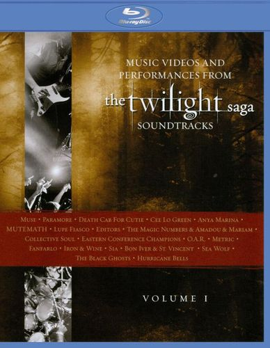 Music from The Twilight Saga Soundtracks: Videos and Performances, Vol. 1 [Blu-ray] [2010] 1465382