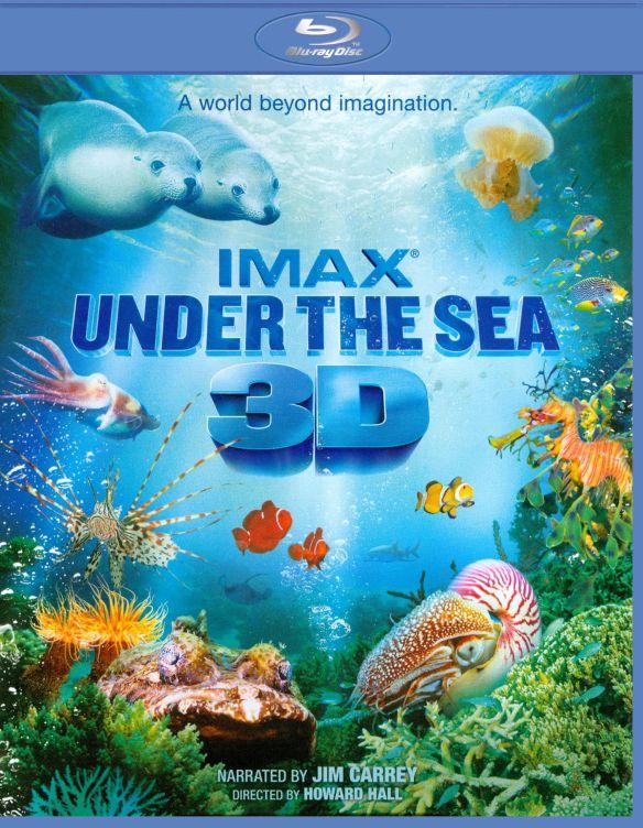 Under the Sea [3D] [Blu-ray] [Blu-ray/Blu-ray 3D] [2009] 1471731