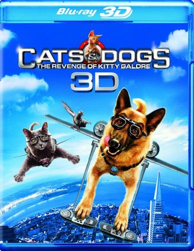 Cats & Dogs: The Revenge of Kitty Galore [3D] [Blu-ray] [Blu-ray/Blu-ray 3D] [2010] 1471777