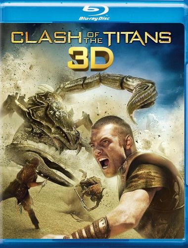 Clash of the Titans 3D [2 Discs] [3D] [Blu-ray] [Blu-ray/Blu-ray 3D] [2010] 1471786