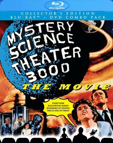 Mystery Science Theater 3000: The Movie [2 Discs] [DVD/Blu-ray] [Blu-ray/DVD] [1996] 1483038