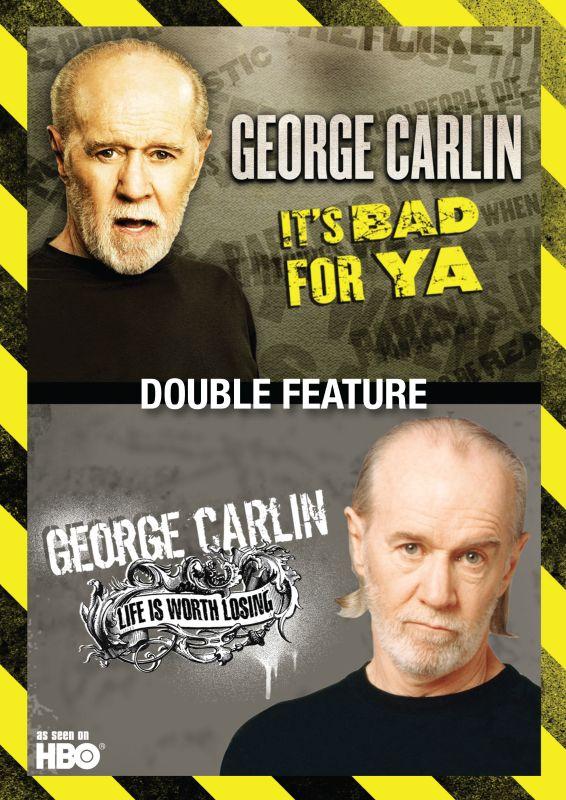 George Carlin: It's Bad For Ya/Life Is Worth Losing [DVD] 1483711