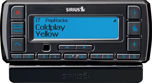 SiriusXM - Stratus 7 Satellite Radio with PowerConnect Vehicle Kit - Black