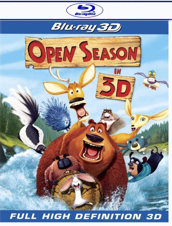 Open Season [3D] [Blu-ray] [Blu-ray/Blu-ray 3D] [2006] 1501083