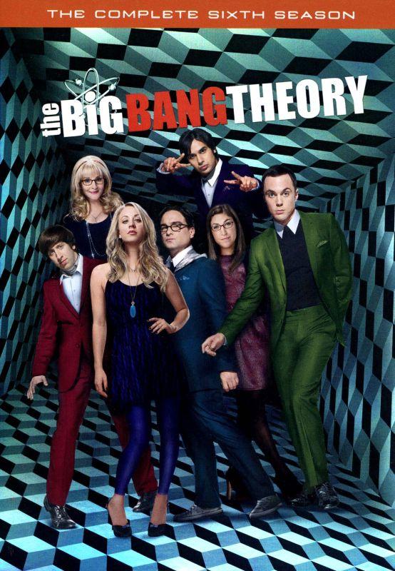 The Big Bang Theory: The Complete Sixth Season [3 Discs] [DVD] 1501153