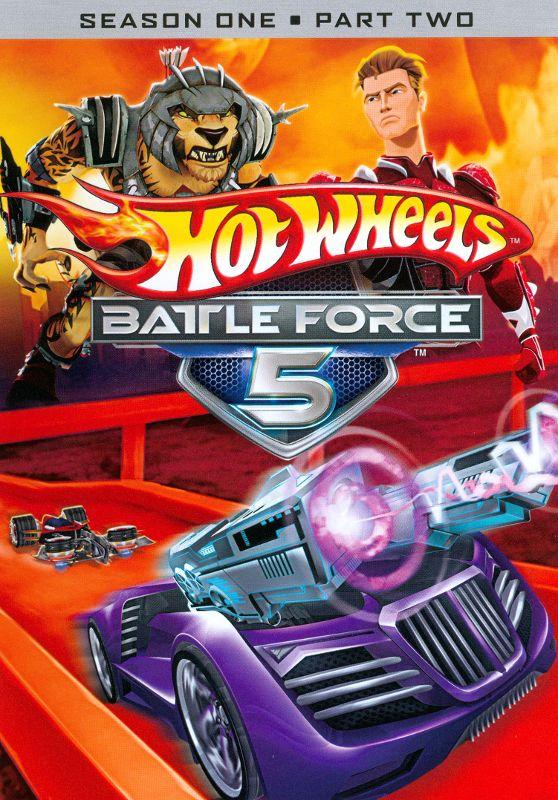 Hot Wheels: Battle Force 5 - Season 1, Part 2 [2 Discs] [DVD] 1506088