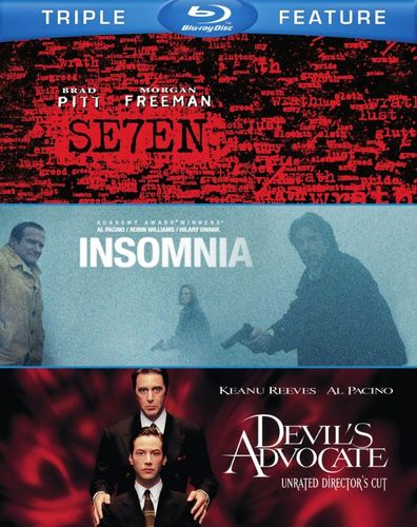 Seven/The Devil's Advocate/Insomnia [3 Discs] [Blu-ray] 1515057