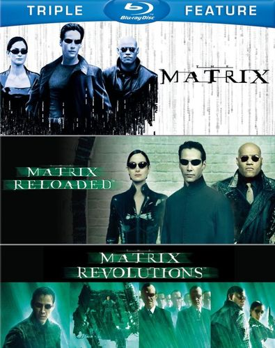 The Matrix/TheMatrix Reloaded/TheMatrix Revolutions [3 Discs] [Blu-ray] 1515075