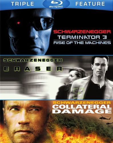 Terminator 3: Rise of the Machines/Eraser/Collateral Damage [3 Discs] [Blu-ray] 1515084