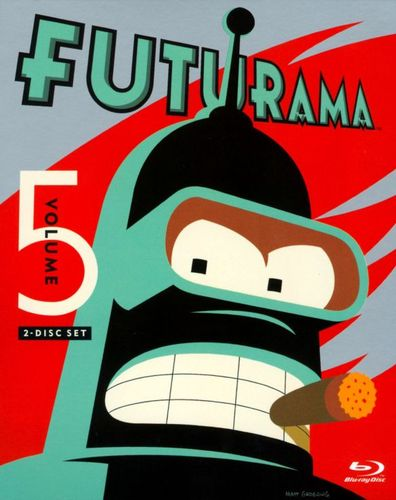 Futurama, Vol. 5 [2 Discs] [Blu-ray] 1519329