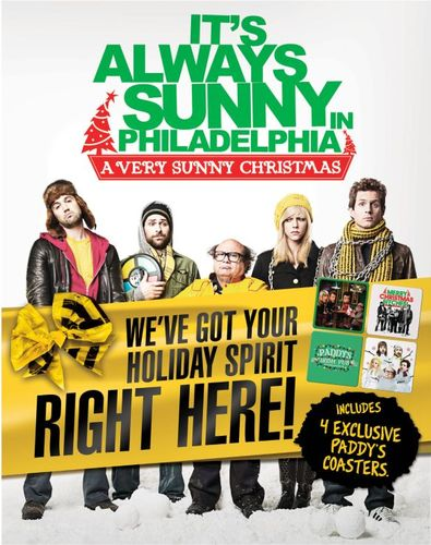 It's Always Sunny in Philadelphia: A Very Sunny Christmas [Blu-ray] [With Set of 4 Coasters] 1521111