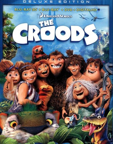 The Croods [Deluxe Edition] [3 Discs] [Includes Digital Copy] [3D] [Blu-ray/DVD] [Blu-ray/Blu-ray 3D/DVD] [2013] 1524011