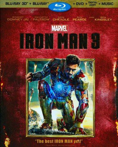 Iron Man 3 [3 Discs] [Includes Digital Copy] [3D] [Blu-ray/DVD] [Blu-ray/Blu-ray 3D/DVD] [2013] 1524385