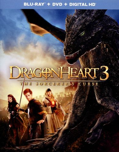 Dragonheart 3: The Sorcerer's Curse [Blu-ray] [2015] 1526304
